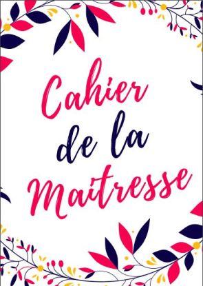 CAHIER DE LA MAITRESSE 2018-2019