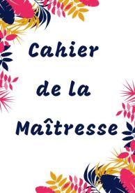 Cahier de la maitresse floral