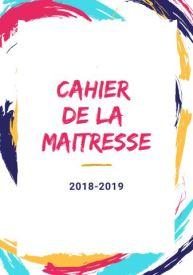 CAHIER DE LA MAITRESSE PEINTURE