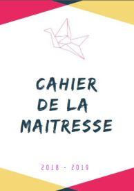 CAHIER DE LA MAITRESSE TRIANGLE