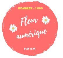 Mhm Fleur Des Nombres Fleur Numerique